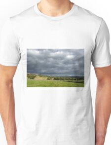 Storm Clouds, East of Monsal Head Unisex T-Shirt