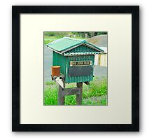 Little House Box # 11 Framed Print