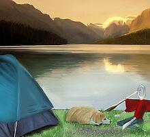 Corky's camping by Nornberg77
