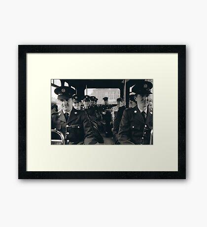 Transport Police Framed Print