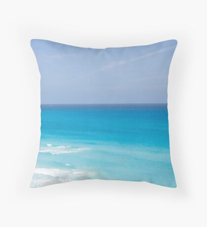 The Caribbean Throw Pillow
