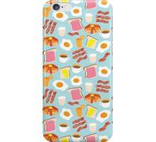 Breakfast Fun Pattern iPhone Case/Skin