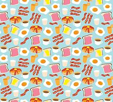 Breakfast Fun Pattern by Cynthia Arre