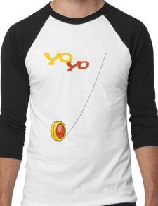 yo-yo Men's Baseball ¾ T-Shirt