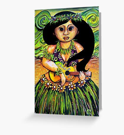 'Iliki' Spirit of Aloha Greeting Card