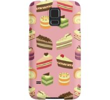 Cake Buffet Pattern Samsung Galaxy Case/Skin