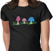 toadstool fantasy Womens Fitted T-Shirt