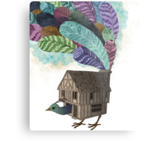 the birdhouse revisited  Metal Print