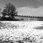 Royal Crescent Bath by Stephen Thomas Green