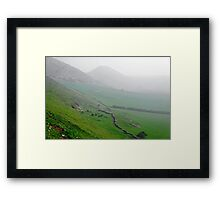 Along the Lower Reaches of Bunster Hill Framed Print