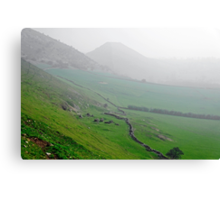 Along the Lower Reaches of Bunster Hill Canvas Print