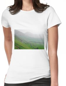 Along the Lower Reaches of Bunster Hill Womens Fitted T-Shirt