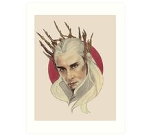 Thranduil, King of Mirkwood Art Print