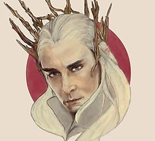 Thranduil, King of Mirkwood by perphation