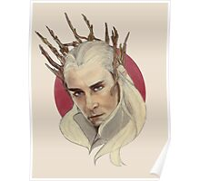 Thranduil, King of Mirkwood Poster