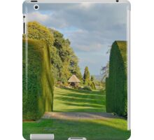 Gardens At Chirk Castle iPad Case/Skin