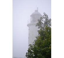 Lighthouse at Högbonden Photographic Print