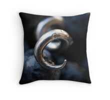 Cork Screw Throw Pillow