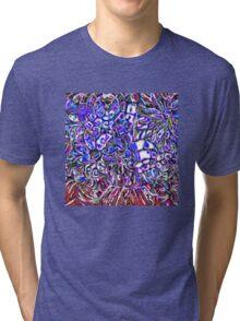 Glass Flowers Tri-blend T-Shirt