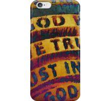 In God We Trust iPhone Case/Skin