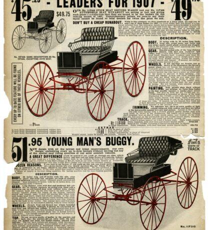 Vintage Victorian Print #1 Sticker