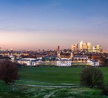 The View from Greenwich Park by Vincent Sluiter