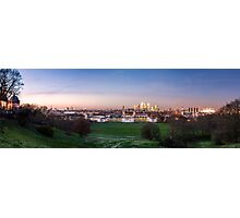 The View from Greenwich Park Photographic Print