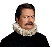 Victorian Ron Swanson - Parks and Rec. by DragonSquire
