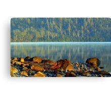 Early morning Lake ST Claire Tasmania Canvas Print