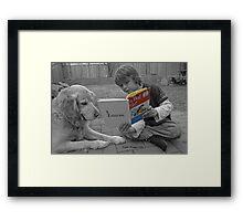 Go Dog Go Framed Print