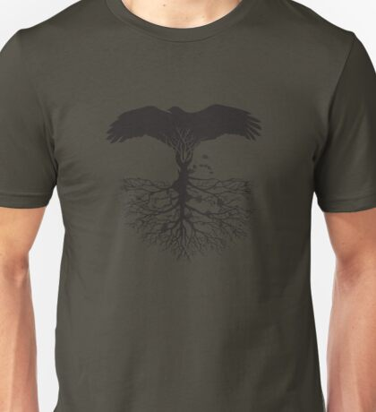 Bird of Pray: Rooted Unisex T-Shirt