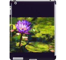 Waterlilies Impressions – Sunny Purple Pair iPad Case/Skin