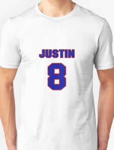 National Hockey player Justin Abdelkader jersey 8 T-Shirt