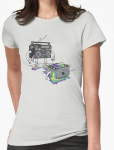 Revenge of the Radio star Womens Fitted T-Shirt