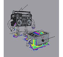Revenge of the Radio star Photographic Print