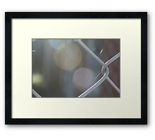 Wire Web Framed Print