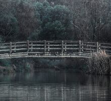 Bridge on the Lake - HDR by Jan Clarke