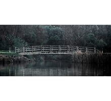 Bridge on the Lake - HDR Photographic Print