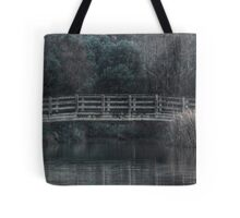 Bridge on the Lake - HDR Tote Bag