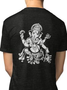 Lord Ganesh for dark colours Tri-blend T-Shirt