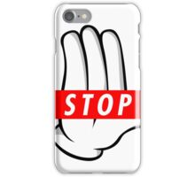 STOP ! iPhone Case/Skin