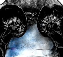 The eye of the Raging Bull Sticker