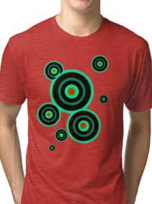 Turquoise Records Tri-blend T-Shirt
