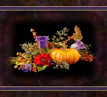 Autumn Still Life Card by Sheryl Kasper