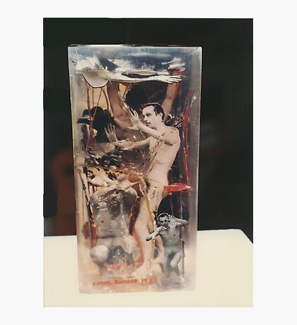 """""""The Collector""""1985 Back Photographic Print"""