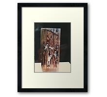 """The Collector""1985 Side Framed Print"