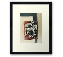 """The Collector""1985 Bird's eye view Framed Print"