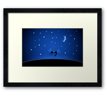 Semicolon Framed Print
