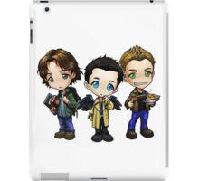 Supernatural - Dean, Sam and Castiel iPad Case/Skin
