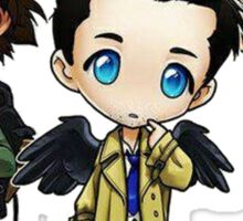 Supernatural - Dean, Sam and Castiel Sticker